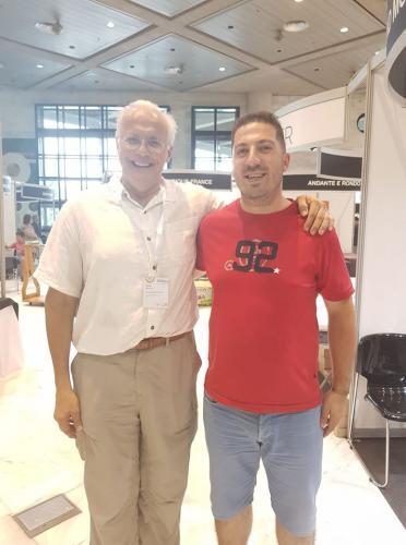 Frank Morelli e Tiago Almeida - IDRS 2018, Granada