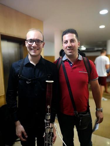 Andrea Cellacchi e Tiago Almeida - Julho 2019